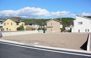 市街地に出やすい開発行為の分譲地 残り1区画