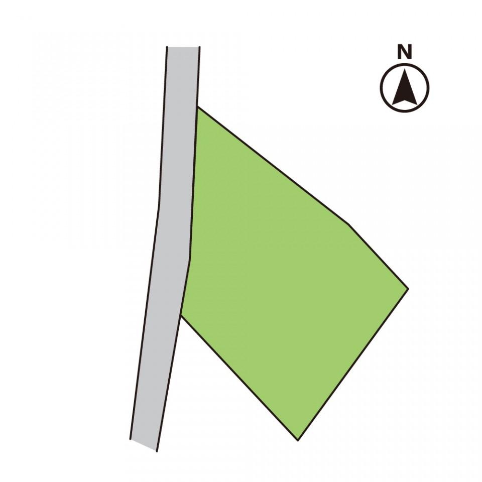 敷地ひろびろ114坪!高台で日当たり良好&堀込式駐車場3台分あり