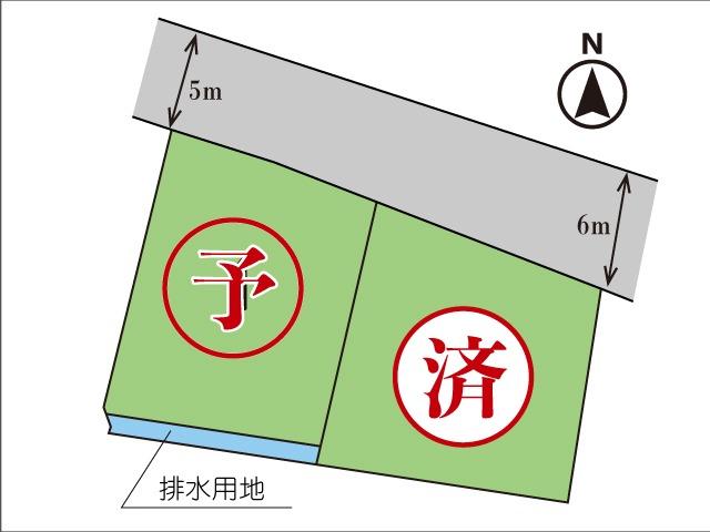《予約中》今泉小学校区に800万円台の新規分譲地登場!