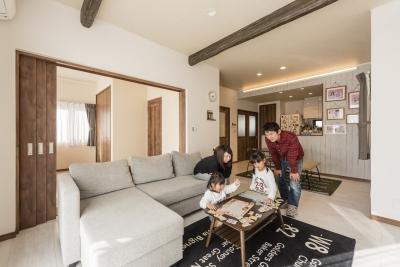 夢をかなえたのはコミコミ1338万円からの自由設計の家
