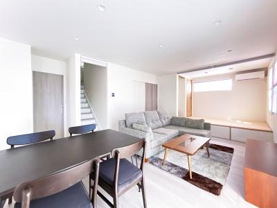 ひろびろ空間とたっぷり収納を実現した30坪の家